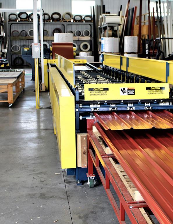 Wagler Steel Shop Floor