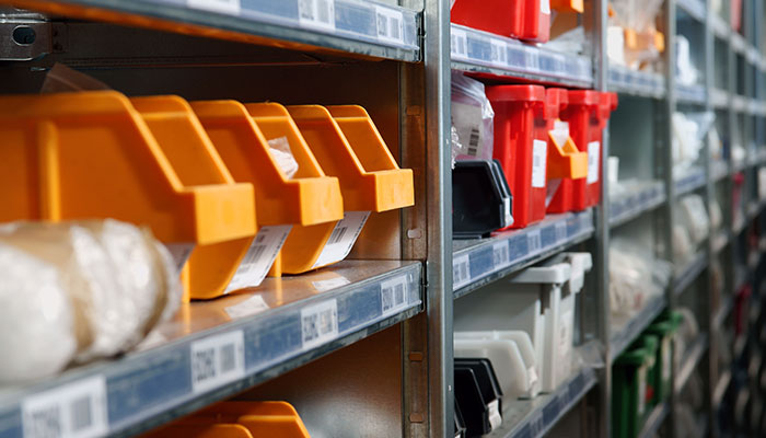 Manage Parts Inventory